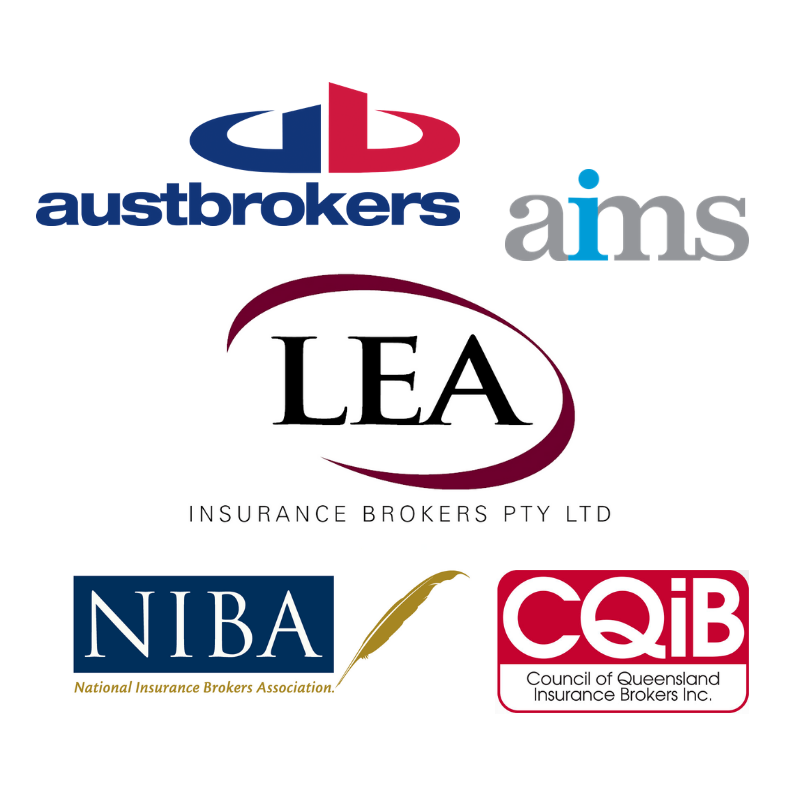 LEA insurance Brokers logos and industry partnerships